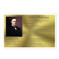 25: William McKinley Postcards (8 Pack)