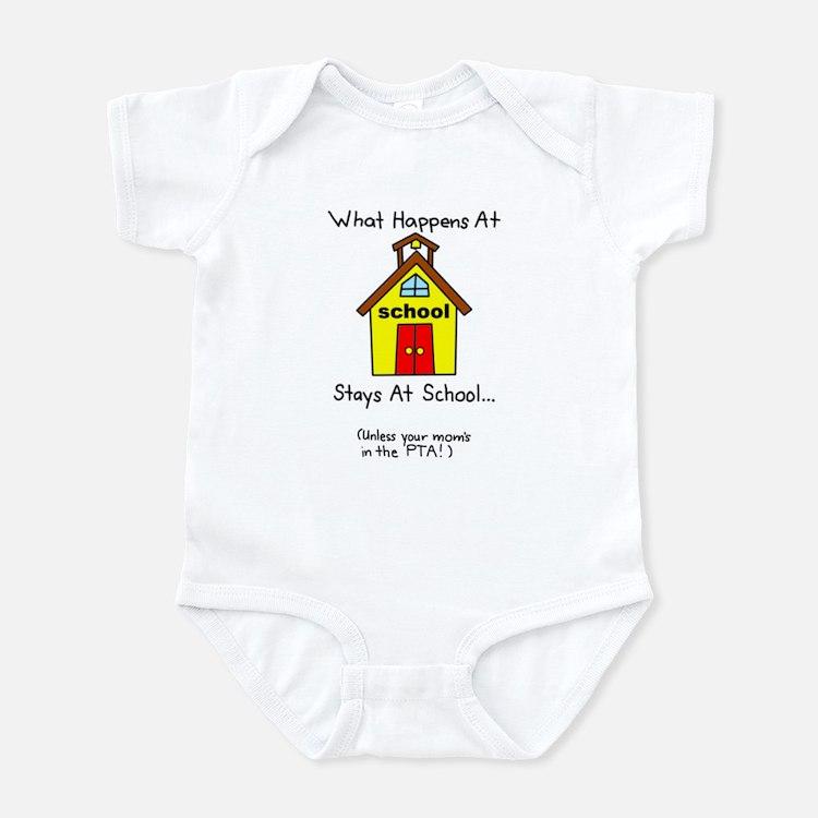 Mom School PTA Infant Bodysuit