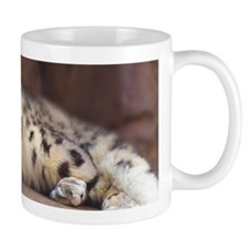 Snow Leopard Small Mug