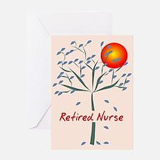 Retired Nurse Greeting Card