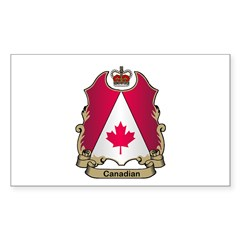 Canadian Gifts Rectangle Sticker