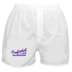 Proud Infidel (Kafir) Boxer Shorts