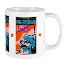 Obey the POMERANIAN! Freedom Mug