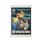 Sky's the Limit Poster Art Rectangle Magnet (10 pa