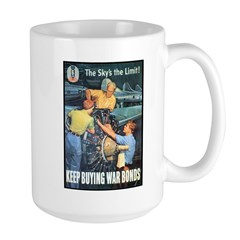 Sky's the Limit Poster Art Mug