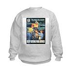 Sky's the Limit Poster Art Kids Sweatshirt
