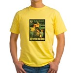 Sky's the Limit Poster Art (Front) Yellow T-Shirt