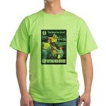 Sky's the Limit Poster Art (Front) Green T-Shirt