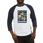 Sky's the Limit Poster Art (Front) Baseball Jersey
