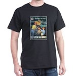 Sky's the Limit Poster Art (Front) Black T-Shirt