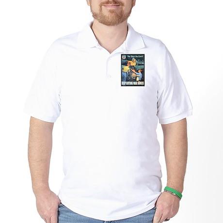 Sky's the Limit Poster Art Golf Shirt