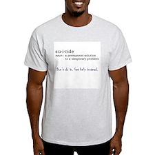 Suicide Definition T-Shirt
