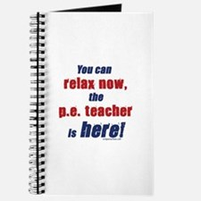 Relax, P.E. teacher here Journal