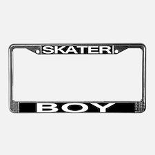 Skater Boy License Plate Frame