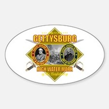 Gettysburg Sticker (Oval)