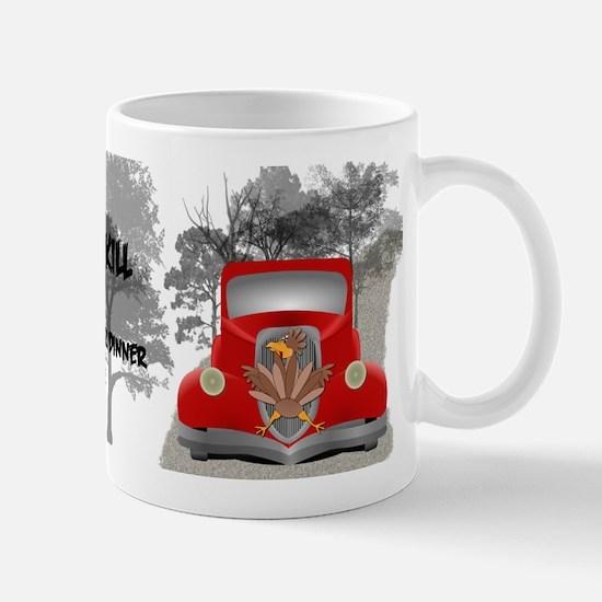 Funny Roadkill Mug