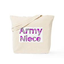 Army Niece Pink Camo Tote Bag
