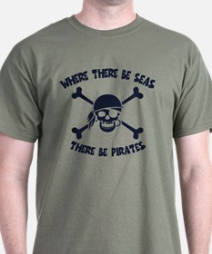 Where There Be Seas T-Shirt