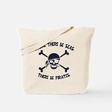 Where There Be Seas Tote Bag