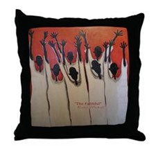 The Faithful Throw Pillow