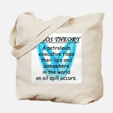 Chaos Theory - Oil Spill Tote Bag