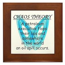 Chaos Theory - Oil Spill Framed Tile