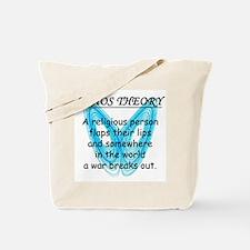 Chaos Theory - War Tote Bag