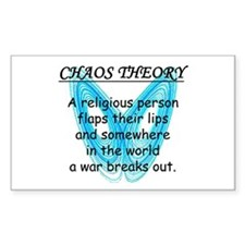 Chaos Theory - War Decal