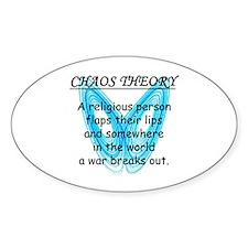 Chaos Theory - War Decal