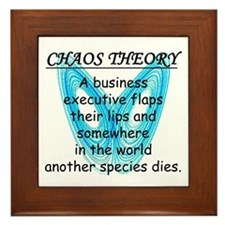 Chaos Theory - Species Loss Framed Tile