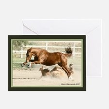 Goin' Crazy Horse Greeting Card