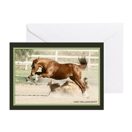 Goin' Crazy Horse Greeting Cards (Pk of 10)