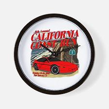 6th Annual California Coast R Wall Clock