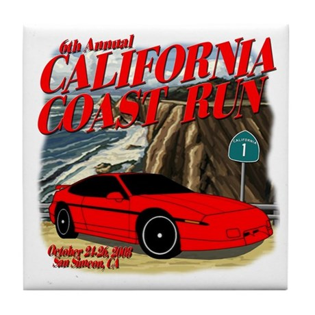 6th Annual California Coast R Tile Coaster