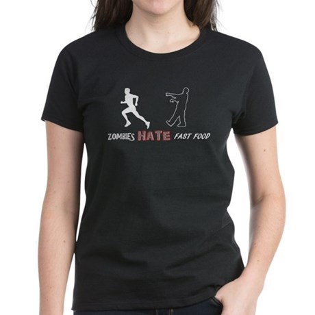 Fast Food Women's Dark T-Shirt