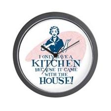 What Kitchen? Wall Clock