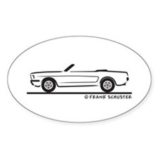 1965 Ford Mustang Convertible Decal
