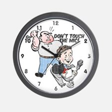 """""""Don't Touch"""" Distressed Wall Clock"""