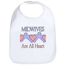 Midwives Are All Heart 2 Bib