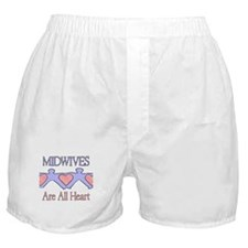 Midwives Are All Heart 2 Boxer Shorts