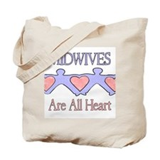 Midwives Are All Heart 2 Tote Bag