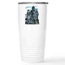 Haunted House Travel Mug