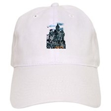 Haunted House Baseball Cap