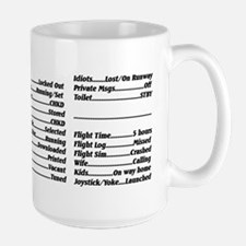 Simmers Checklist Mug