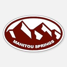 Manitou Springs Decal