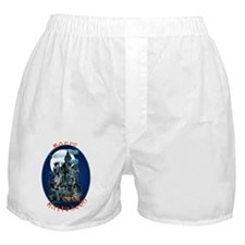 Haunted House_Happy Halloween Boxer Shorts