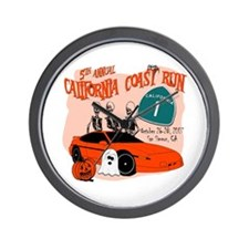 5th Annual California Coast R Wall Clock
