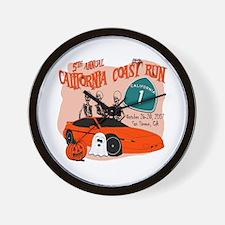 5th Annual California Coast R Wall Clock