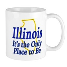 Only Place To Be - Illinois Mug