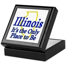 Only Place To Be - Illinois Keepsake Box
